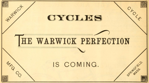 Vorankündigung 1888